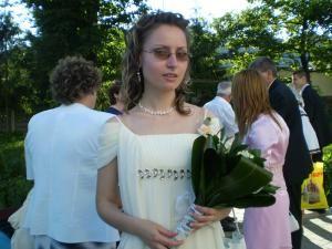 Ana Maria Cojocar, absolventa a Colegiului National Petru Rares
