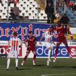 Echipa Oţelul Galaţi a terminat la egalitate, scor 1-1 (0-0), partida disputată, în faţa campioanei CFR Cluj. Foto: otelul-galati.ro