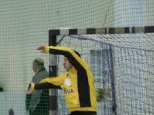 Portarul Bogdan Pralea a făcut un meci excelent la Baia Mare