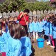 "Copiii de la Grădiniţa ""Lizuca"" au plantat copaci, pentru a marca ENO Tree Planting Day"