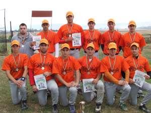 Echipa Royals IGB a obţinut în premieră argintul naţional în întrecerea de baseball