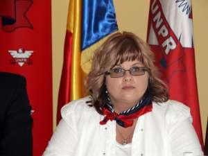 Cătălina Vartic, preşedinta Organizaţiei Judeţene UNPR Suceava