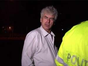 Comisarul-şef Luigino Pânzariu, la scurt timp după accident