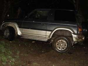 Maşina cu care Vasile Marocico s-a rostogolit de trei ori într-o râpă