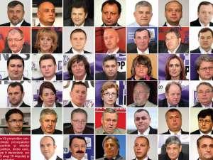 Dintre ei se vor alege parlamentarii judeţului
