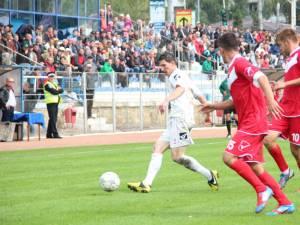 Daniel Bălan a înscris un gol pentru Rapid în deplasarea de la Clinceni