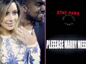 Kim Kardashian şi Kanye West s-au logodit