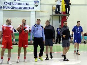 Handbaliștii suceveni au pierdut meciul de acasă cu Dinamo pentru că ambulanța n-a ajuns la sală