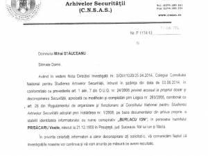 Viceprimarul din Liteni şi-a turnat cu sârg la Securitate colegii de serviciu şi cunoscuţii