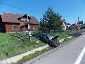 Lituanian implicat într-un accident violent la Poiana Stampei