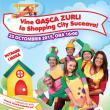 Spectacol pentru copii organizat de Gaşca Zurli, la Shopping City Suceava