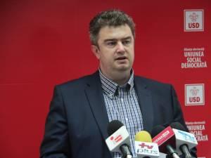 Liderul grupului PSD din Consiliul Judeţean Suceava, Cătălin Nechifor