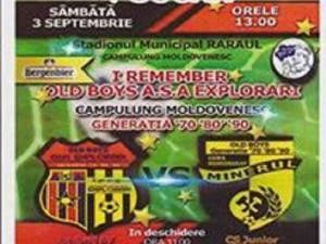 """I Remember Old Boys"", eveniment sportiv-caritabil la Câmpulung Moldovenesc"