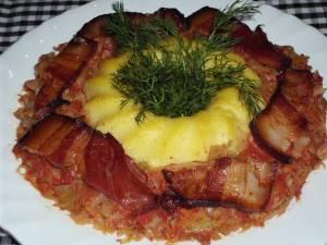 Varză cu carne tocată. Foto: sfatulparintilor.ro