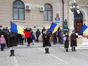 Ziua Naţională, sărbătorită în centrul municipiului Suceava