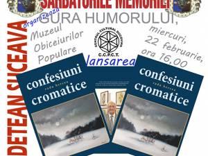 Lansare de carte, expoziţie de pictură şi concert de muzică veche la Gura Humorului