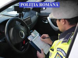 Control în trafic în zona Rădăuţi - Vicovu de Sus
