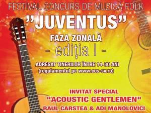 """Festivalul concurs de folk """"Juventus"""", la prima ediție"""