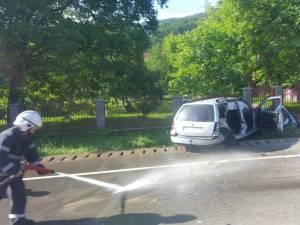 Accident violent, cu un mort și doi răniți grav, la Frasin