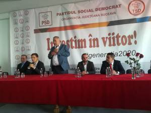 Lideri naţionali și judeţeni ai PSD, prezenţi la şcoala de pregătire politică a tinerilor social-democraţi suceveni