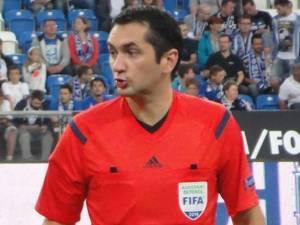 Sebastian Gheorghe a ajuns la apogeul carierei în arbitraj