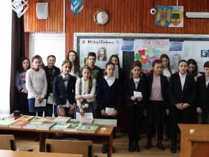 """Proiectul """"Eminescu - poetul nemuririi"""", desfășurat la Liceul Tehnologic """"Ștefan cel Mare"""" Cajvana"""