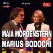 """Spectacolul """"Elixir cu actorii Maia Morgenstern și Marius Bodochi, pe scena suceveană"""