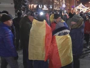 Protest anti-PSD, la Suceava