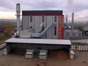 Centrala de termoficare a Sucevei funcţionează pe biomasă