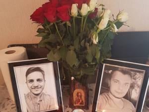 Cei doi tineri morţi în accidentul din Marea Britanie. Gheorghe Sofiţchi, în dreapta