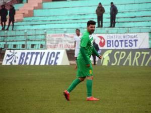Golgeterul Marius Matei a înscris golul de onoare al Forestei, din penalty