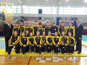 Sportivii de la He Pai Suceava au câştigat 12 medalii la naţionale de juniori şi seniori