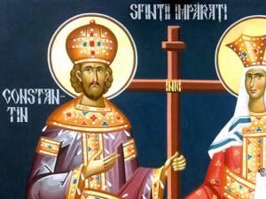 Sfinţii Împăraţi Constantin şi Elena în tradiţia poporului român