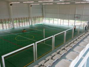 Comuna Berchişeşti are de ieri una dintre cele mai moderne săli de sport din judeţul Suceava