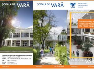 """Şcoala de vară """"Interculturality and Tolerance: Values for the Future Europe"""", la Vatra Dornei"""