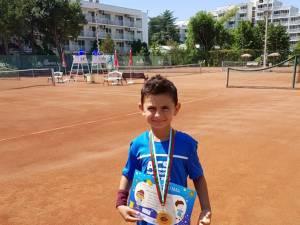 """David Arcip a câştigat turneul internaţional de tenis """"Albena Open 2018"""""""