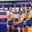 Cosmin Pascari, alături de alţi doi canotori din judeţul Suceava, Ştefan-Constantin Berariu, Mihai-Vasile Ţigănescu, dar şi Ciprian Huc au câştigat aurul european la 4 rame