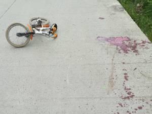 Imagine de coşmar la locul accidentului