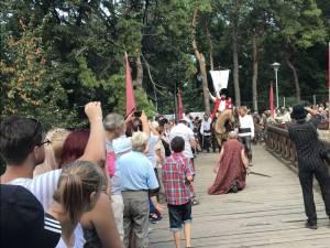 Festivalul Medieval: Intrarea lui Mihai Viteazul în Cetatea de Scaun a Sucevei