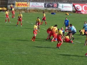 Rugby Club Gura Humorului a făcut un meci de prezentare cu juniorii U19 de la LPS Suceava