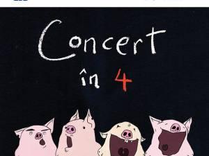 """""""Concert în 4"""", cu Ada Milea și invitații săi"""