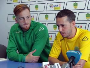 Paul Mateciuc şi Selim Benachour au prefaţat duelul cu Sănătatea Darabani