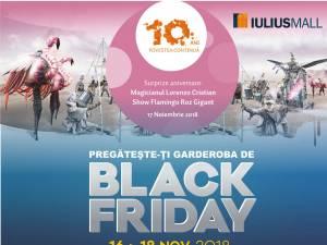 Weekend cu oferte aniversare şi reduceri de până la 70%, la Iulius Mall Suceava