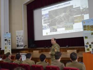 """Inaugurarea """"Sălii Forțelor Terestre"""" la Colegiul Național Militar """"Ștefan cel Mare"""""""