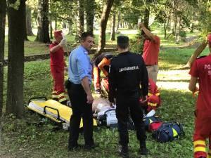 Intervenţia jandarmilor care s-a soldat cu decesul lui Ioan Csapai a avut loc în după-amiaza zilei de vineri, 19 iulie a.c., în zona Parcului Municipal Vatra Dornei