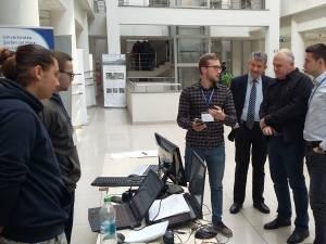 """Tehnologii de vârf dezvoltate de studenții USV, în 25 de ore, în cadrul concursului """"25 de ore la USV"""","""