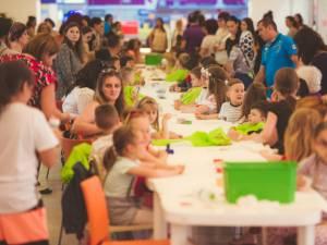 Ateliere de creaţie pentru copii, la Iulius Mall Suceava