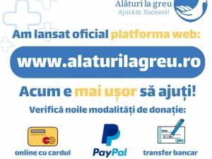 """A fost lansată oficial platforma web """"Alături la greu"""", inițiată de Arhiepiscopia Sucevei și Rădăuților"""