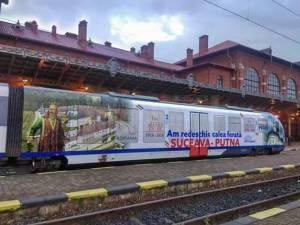 Circulația trenurilor Suceava-Putna, reluată la începutul lunii iunie, cu două curse zilnice