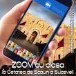 Un tur ghidat, virtual, al Cetății de Scaun a Sucevei, cu toată clasa, cu ajutorul aplicației ZOOM